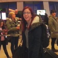 Elaine airport arrival
