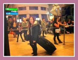 Elaine orginal airport arrival